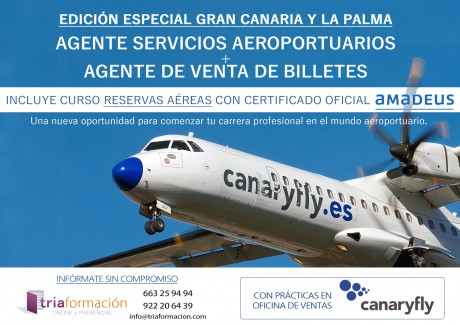 CURSO DOBLE AEROPORTUARIO 2018 – GC Y La Palma
