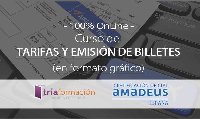 Curso Amadeus Emision Billetes