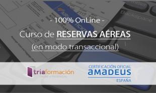 Curso Reservas transaccional Amadeus