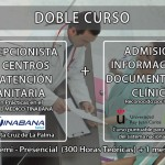 doble curso recepcion sanitaria