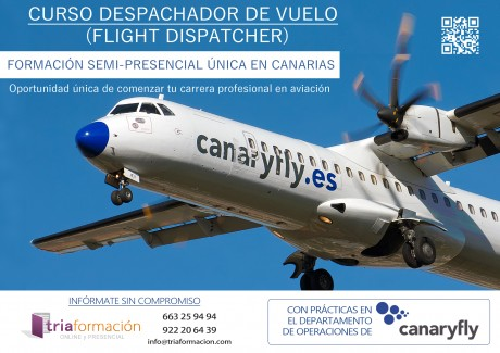 CURSO DESPACHADOR DE VUELO FLIGHT DISPATCHER